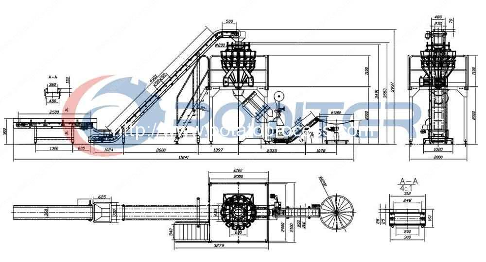 Automatic-potato-net-bag-mesh-bag-packing-line-by-weight