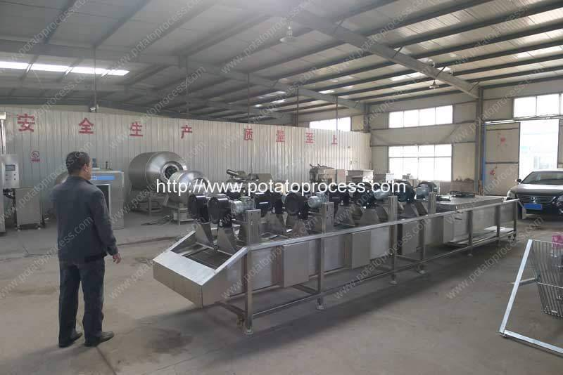 French-Fries-Dryer-Machine-Manufacture-Factory-Visit