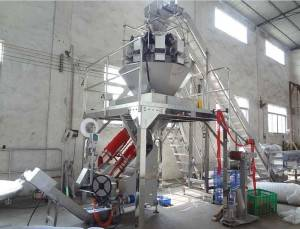Full Automatic Mesh Bag Packing Machine for Supermarket