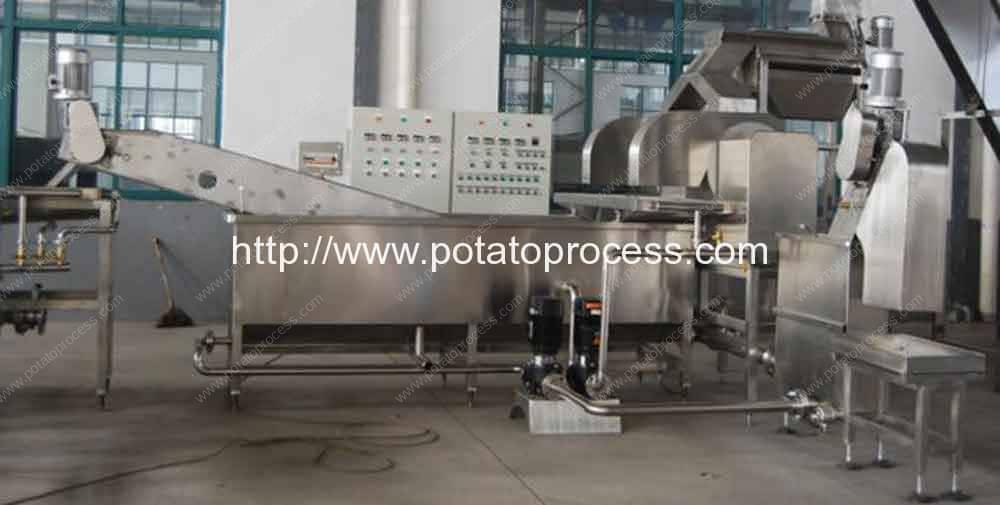 Potato-Blanching-Machine-to-Remove-Potato-Starch