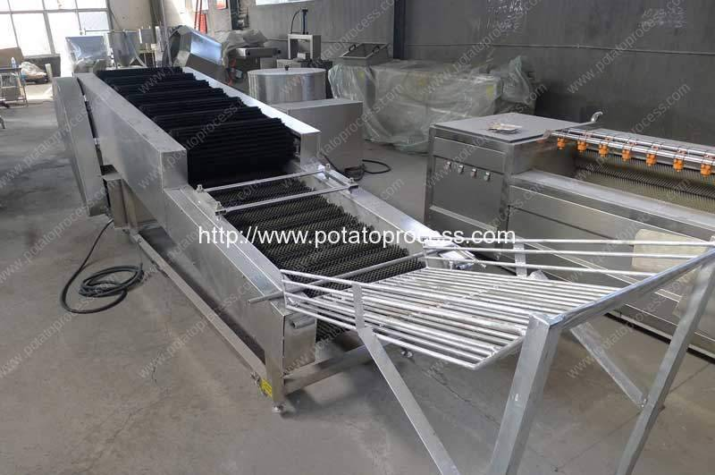 Potato-Brush-Dry-Cleaning-Machine for Packing or Storage