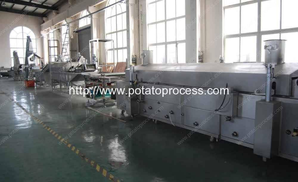 Potato-Chips-Potato-Sticks-Production-Line