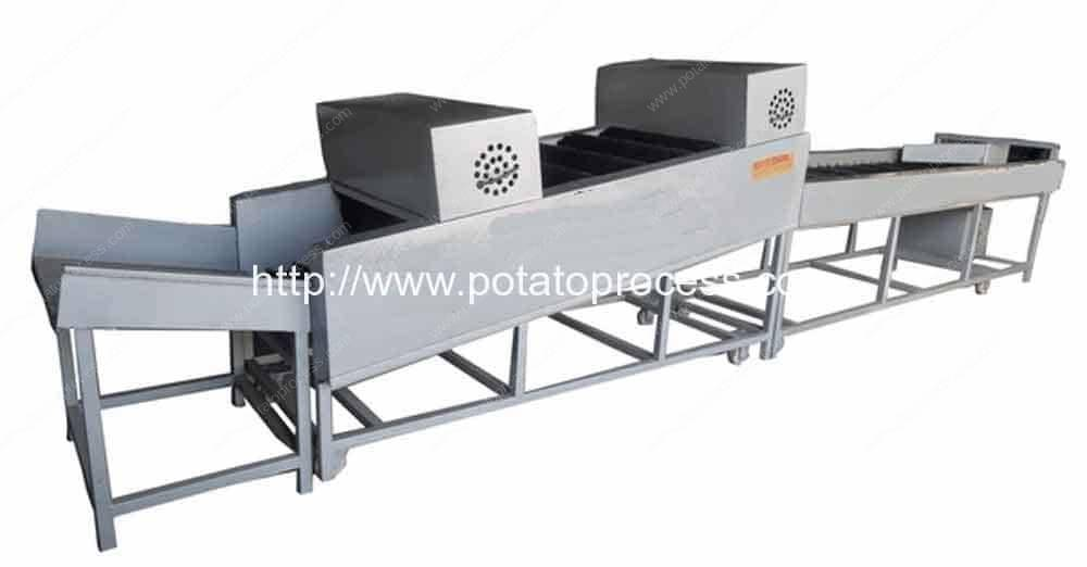 Potato-Dry-Cleaning-Machine