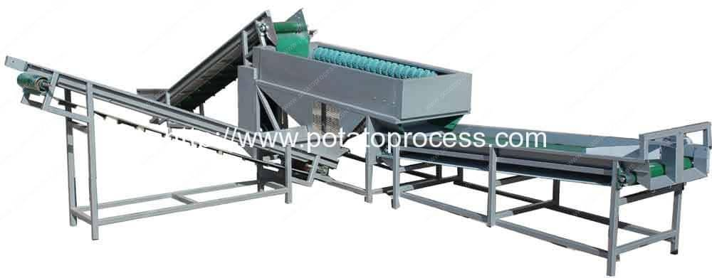 Potato-Dry-Cleaning-and-Potato-Grader-Machine