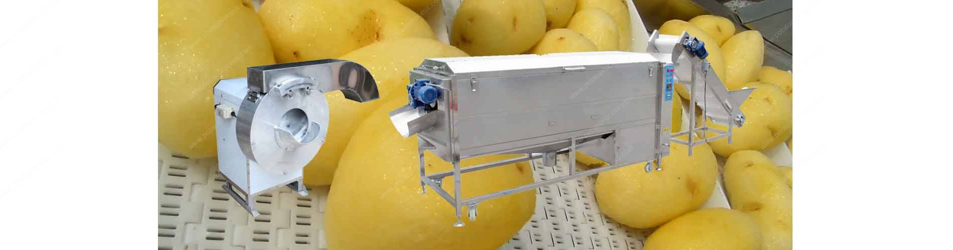 Potato Chips, French Fries Cutting Machine