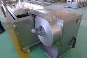Automatic-French-Fries-Cutting-Machine-with-Blanching-Machine