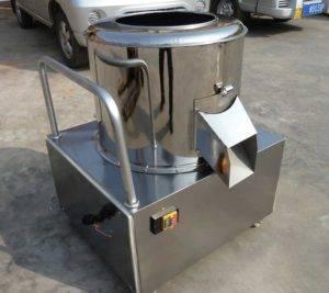 Drum-Abrasive-Potato-Washing-Peeling-Machine