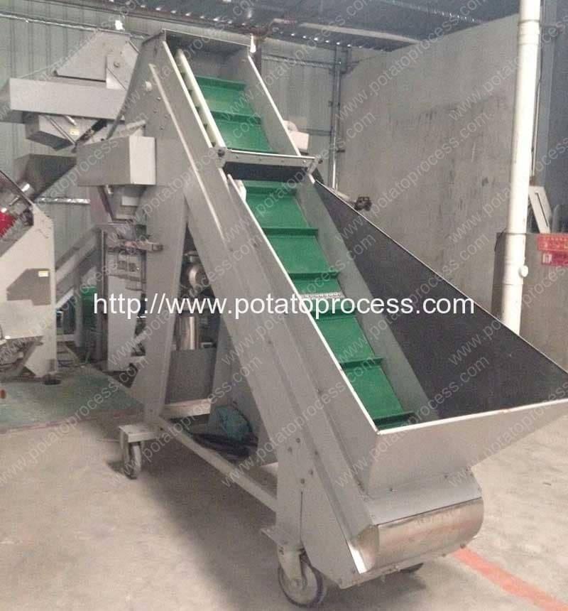 Machine automatique d'emballage de sac de poids de pomme de terre