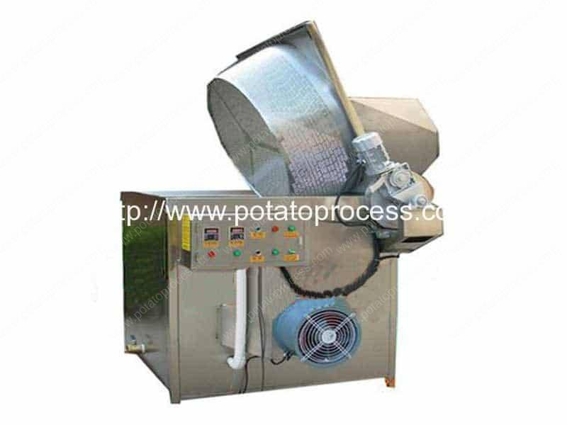 300kgh Semi Automatic Wave Shape Potato Chips Production