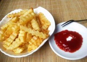 300kgh Semi-Automatic Wave Shape Potato Chips Production Line