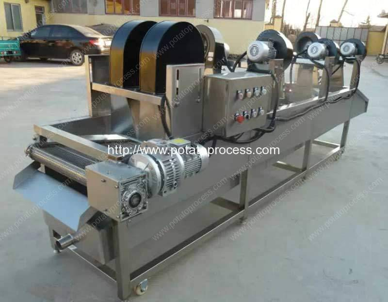 air-blower-dryer-machine-for-potato-chips-production-line