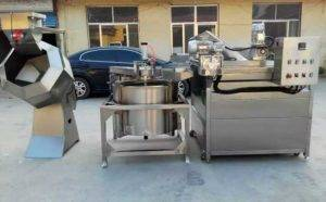 Automatic-Discharge-Type-Fench-Fries-Frying-Machine-with-Auto-De-Oiling-Machine