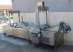 Full Automatic Hot Water Blanching Machine for Sale