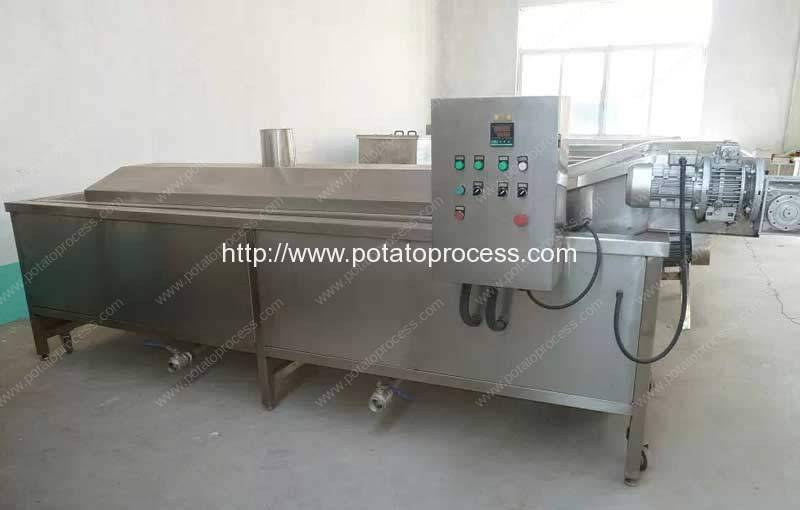 blanching-machine-for-potato-chips-production-line