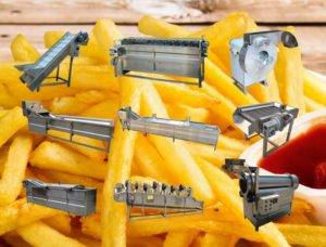 300kgh Full Automatic French Fries Production Line