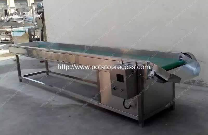 potat-selecting-conveyor-for-potato-chips-production-line