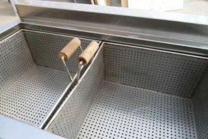 semi-automatic-french-fries-blanching-machine