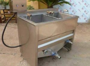 semi-automatic-fryer-machine