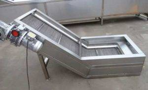 stainless-steel-mesh-belt-elevator-for-french-fries-production-line