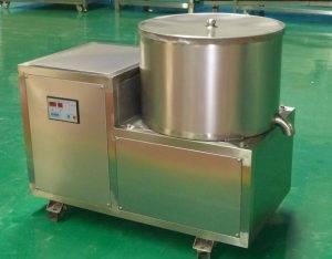 Máquina semiautomática de desengace de batatas fritas