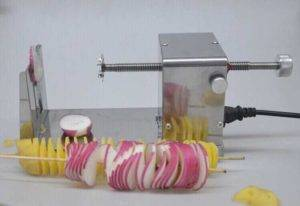 Electric-Type-Stainless-Steel-Spiral-Potato-Cutting-Machine