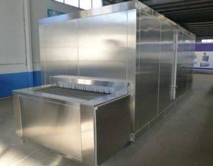 Full Automatic Tunnel Freezer Machine