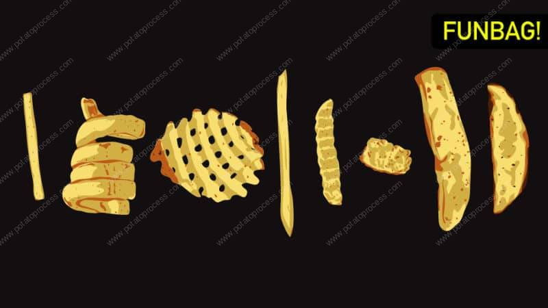 Introduction of Different French Fries Shapes