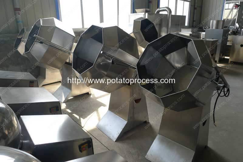 Semi-Automatic-French-Fries-Seasoning-Machine