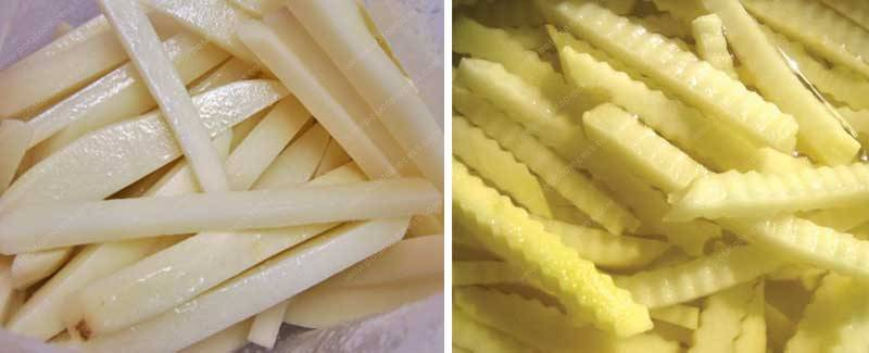 Why Need Blanching Potatoes for French Fries