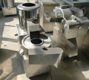 Integrated-Potato-Washing-Peeling-and-Cutting-Machine