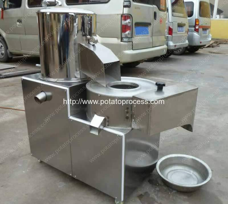 Potato-Washing-Peeling-Stick-Cutting-Machine