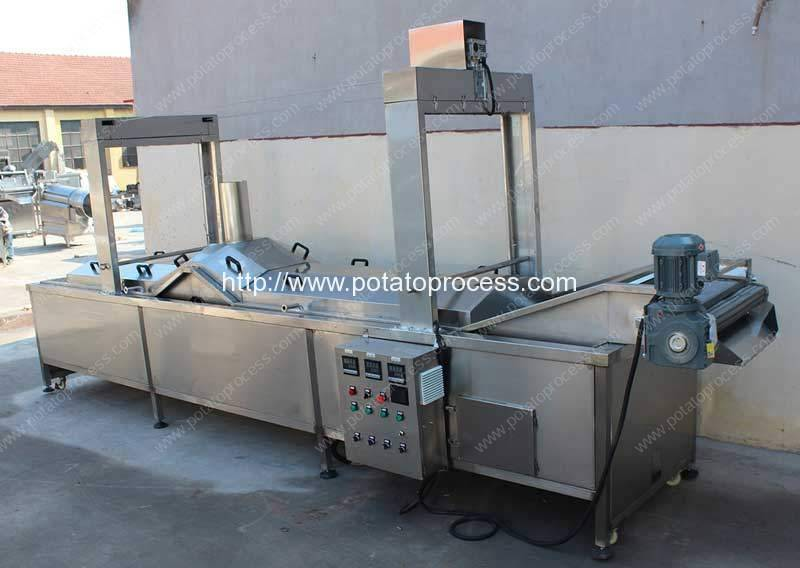 Automatic-Hot-Water-Blanching-Machine