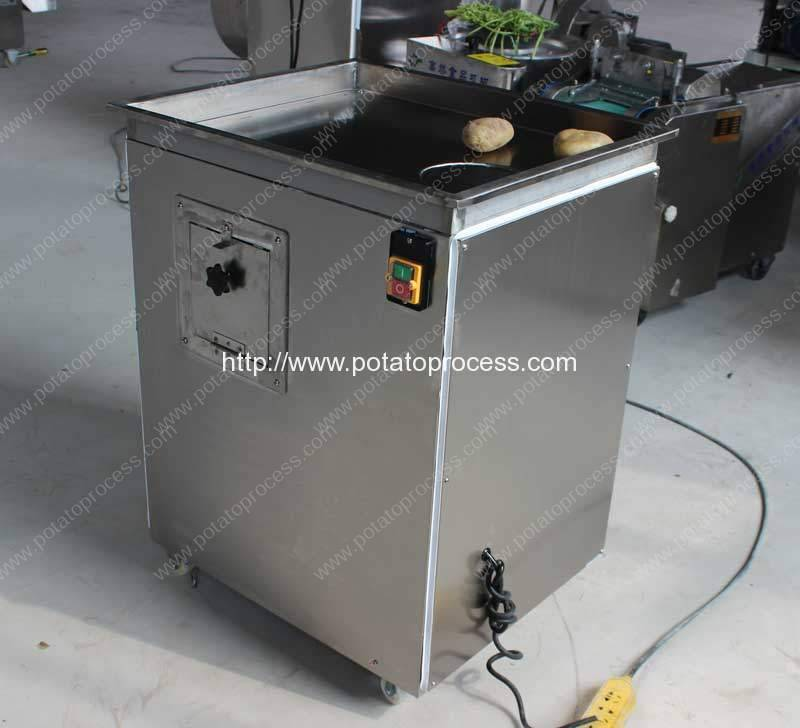 Automatic Wave Shape Potato Chip Cutting Machine