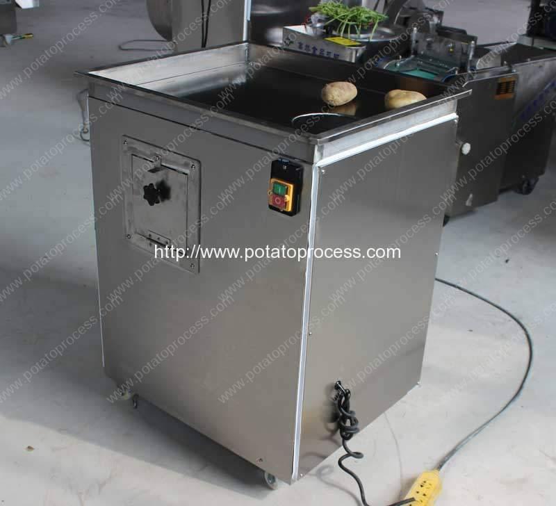 Máquina de corte automática de la viruta de la patata de la forma de onda