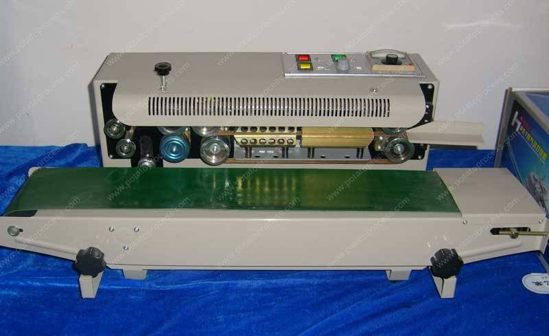 Semi-Automatic Plastic Bag Sealer Machine for Frozen French Fries