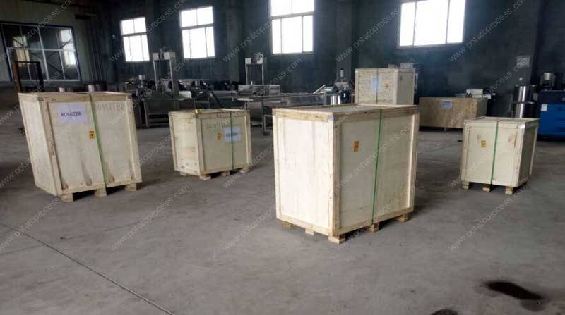 Semi-Automatic-French-Fries-Production-Line-for-France-Customer-Delivery-Package