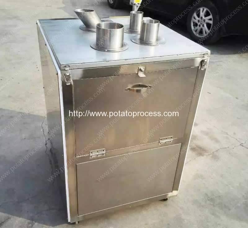 Vertical-Tube-Feeding-Banana-Chip-Cutting-Machine-for-Nigeria-Customer
