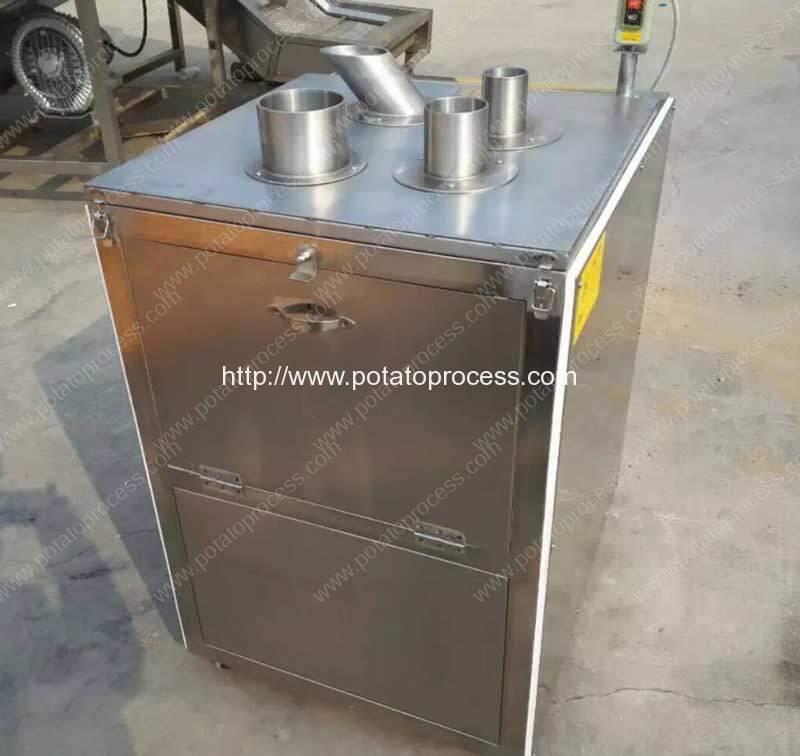 Vertical-Tube-Feeding-Vegetable-Slice-Cutting-Machine-for-Nigeria-Customer