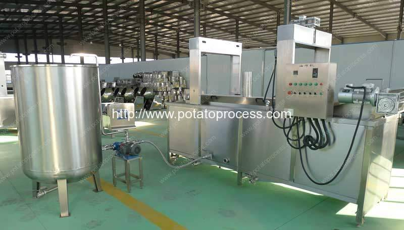 Electric-Heating-Frozen-French-Fries-Machine-with-Oil-Filter-Tank-Manufacture-and-Supplier Romiter