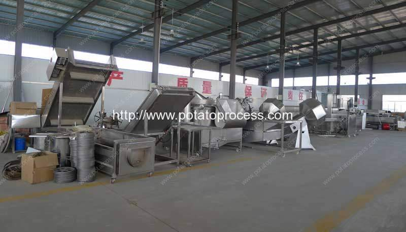 French-Fries-Production-Line-Factory-Visit-Romiter-Machinery