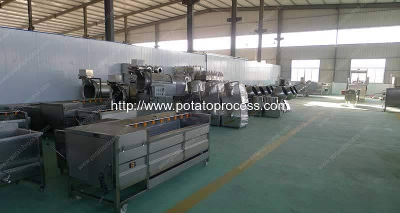 Potato-Chips-Production-Line-Manufacture-Factory-Visit-Romiter-Machinery