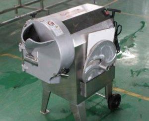 Máquina de corte de papa multifuncional para forma de cubo, barra y chips