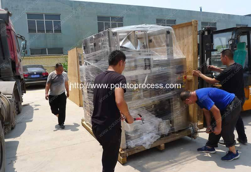 Automatic-French-Fries-Packing-Plant-Delivery-for-Qatar-Customer
