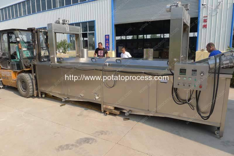 Natural-Gas-French-Fries-Frying-Machine-for-Qatar-Customer