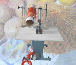 Semi-Automatic Potato Mesh Bag Clipping Machine