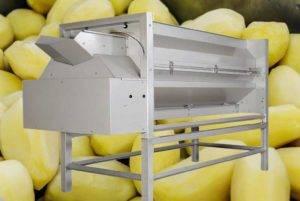 Machine à éplucher complètement automatique de couteau de pomme de terre