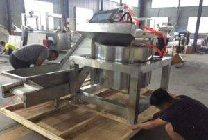 Continuous-Working-Type-De-Oiling-Machine