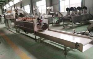 Large Capacity 2000kgh Potato Washing Peeling Machine