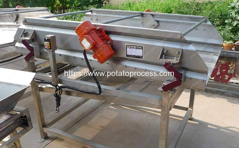 Automatic-French-Fries-Vibrate-Water-Oil-Removing-Machine-for-Sale