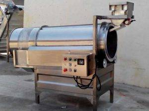 Continuous-Rotary-Drum-French-Fries-Flavoring-Machine